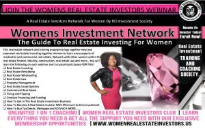 Women's Real Estate Investors Club - Real Estate Investing For Women @ Online