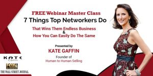 7 Things Top Networkers Do That Wins Them Endless Business...And How (Balto. Metro) @ ONLINE