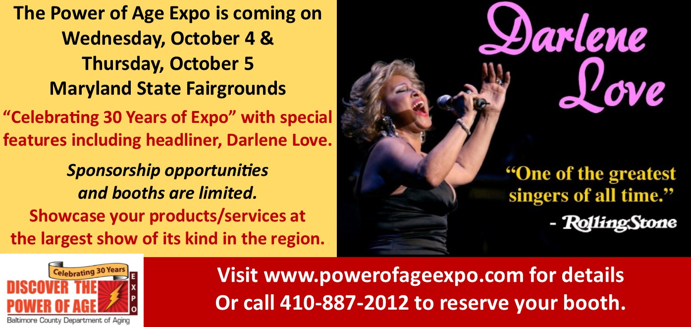 The Power of Age Expo @ The Power of Age Expo hosted by the Baltimore County Dept of Aging | Lutherville-Timonium | Maryland | United States