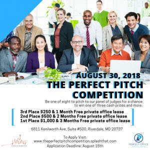 The Perfect Pitch Competition @ Perfect Office Solutions | Maryland | United States
