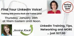 Find Your LinkedIn Voice! @ Virtual Event