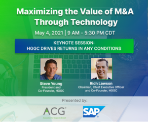 Maximizing the Value of M&A Through Technology @ Online