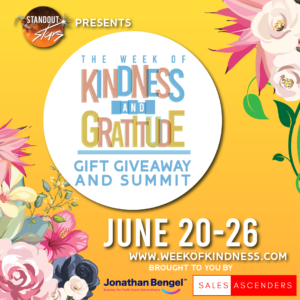 Standout Stars Week of Kindness and Gratitude Gift Giveaway and Summit @ Standout Universe