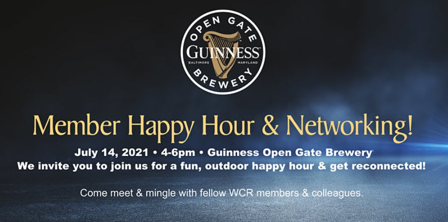IN PERSON EVENT Member Happy Hour & Networking Event (Balto Metro) @ Guinness Open Gate Brewery