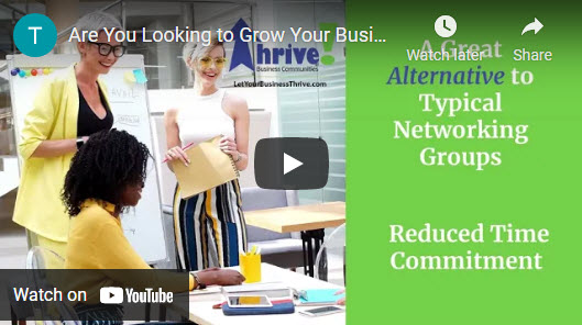 Thrive Open House Networking Event @ Annapolis Yacht Club